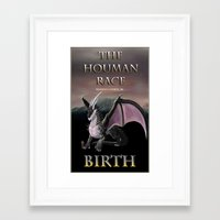 book cover Framed Art Prints featuring Book Cover by Author Warren Cohen
