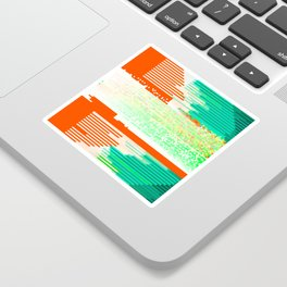 TE ON Sticker