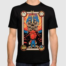 Epic Legend of the Seven Stars Black SMALL Mens Fitted Tee