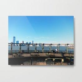 Piers | Hudson River | NYC Metal Print