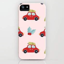Christmas Tree Cars iPhone Case