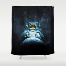 Reach for the Moon Shower Curtain