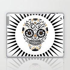 Sugar Skull SF - white Laptop & iPad Skin