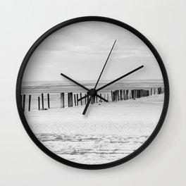 Sand Pillars Wall Clock