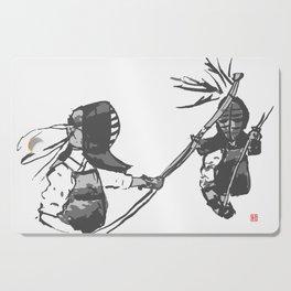 Naginata Sumi-E by Takemi Cutting Board