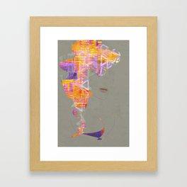 Wearing the City Framed Art Print