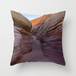 Colorful Canyon- 2, Valley of Fire State Park, Nevada Throw Pillow