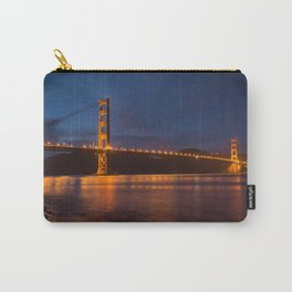 Night Time Golden Gate Bridge Carry-All Pouch