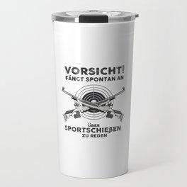 Target shooting sport Travel Mug