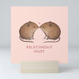 Relationship Voles Mini Art Print