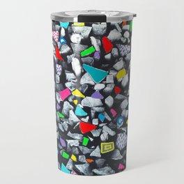 Wood and color Travel Mug