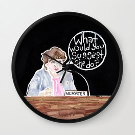 Congresswoman Katie Porter Wall Clock