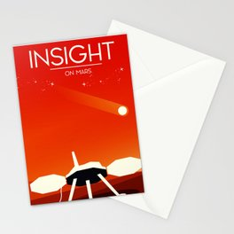 insight Space Art poster Stationery Cards