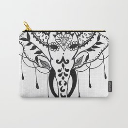 Mehndi Design Elephant by Ganesh Carry-All Pouch