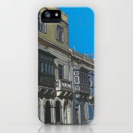 Birkirkara road iPhone Case