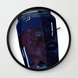 Little Octopus - Digital Colour Wall Clock