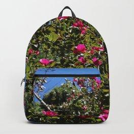 Summel close up tree flowers Backpack
