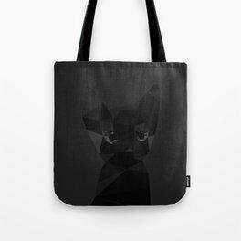 Cut fragments Cat Tote Bag
