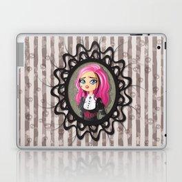 Gothic doll crying Laptop & iPad Skin