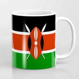 Kenyan national flag - Authentic version Coffee Mug