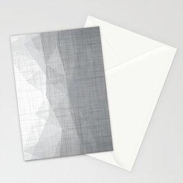 In The Flow - Geometric Minimalist Grey Stationery Cards