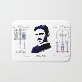 patent Tesla Electric Arc Lamp Bath Mat