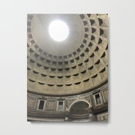 The Oculus Metal Print
