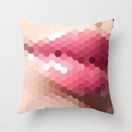 Sexy Lips Throw Pillow