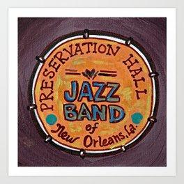 Preservation Hall Jazz Band Art Print