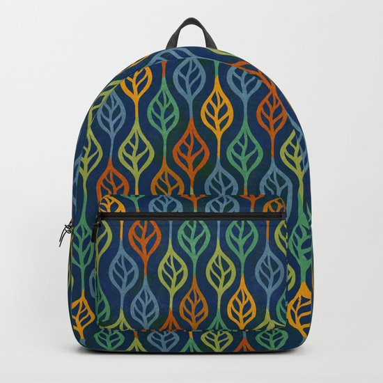 Autumn leaves pattern II Backpack