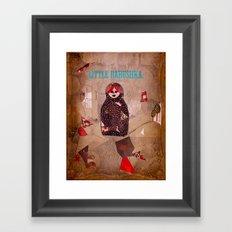 Little Babushka Framed Art Print