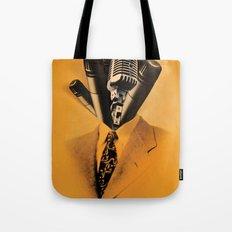 Mr. Microphone Tote Bag