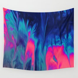 Color scattering Wall Tapestry