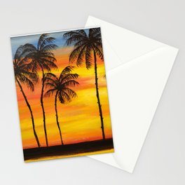 Hawaiian Sunset Stationery Cards