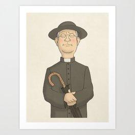 Father Brown Art Print