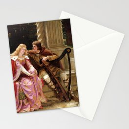 """Edmund Blair Leighton """"Tristan and Isolde"""" Stationery Cards"""