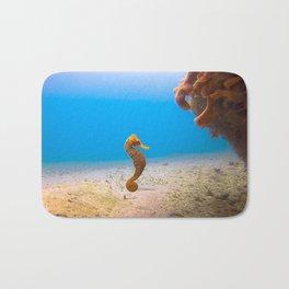 Tropical Seahorse Bath Mat