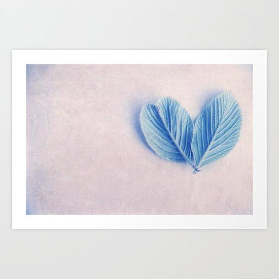 love & soul Art Print