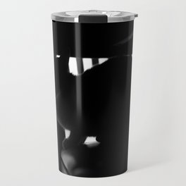 Who Lurks Under The Table? II Travel Mug