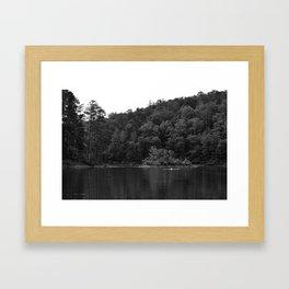 Lake Swimmers Framed Art Print