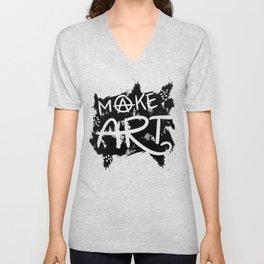 Love to Make Art! Unisex V-Neck