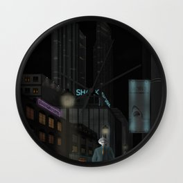 and when the night is coming..... Wall Clock