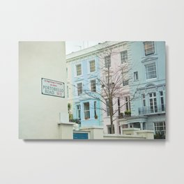 Portobello Road  Metal Print