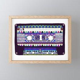 Mix Tape # 10 Framed Mini Art Print
