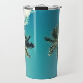 Summer Palms Travel Mug