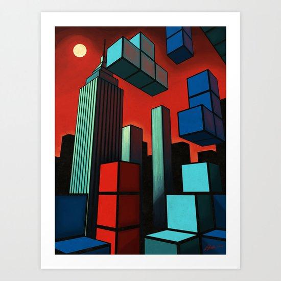 Tetroid Apocalypse Art Print