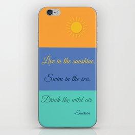 Emerson Knows Summer iPhone Skin