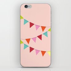 Hooray for girls! iPhone & iPod Skin