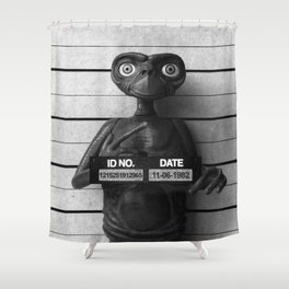 E.T. The Extra-Terrestrial Lineup Shower Curtain