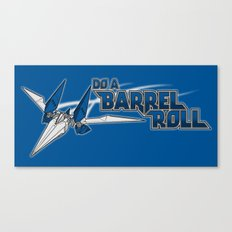 Do a Barrel Roll Canvas Print